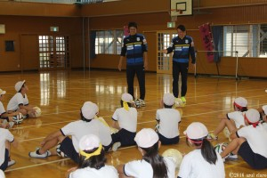 サッカー教室④