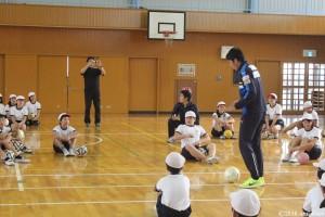 サッカー教室②