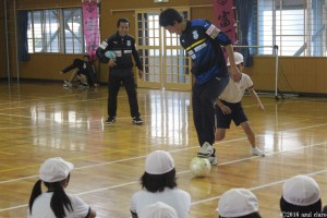 サッカー教室③